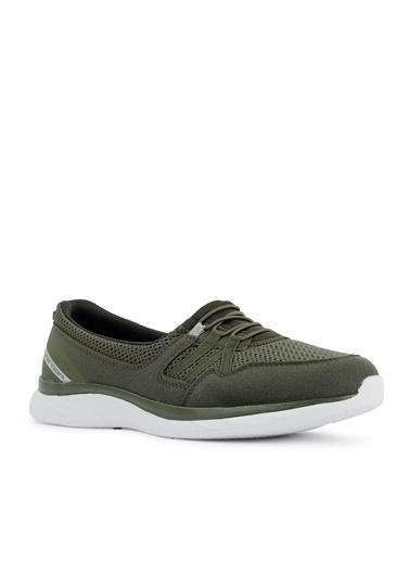 Slazenger Slazenger ARIA Sneaker Kadın Ayakkabı  Haki